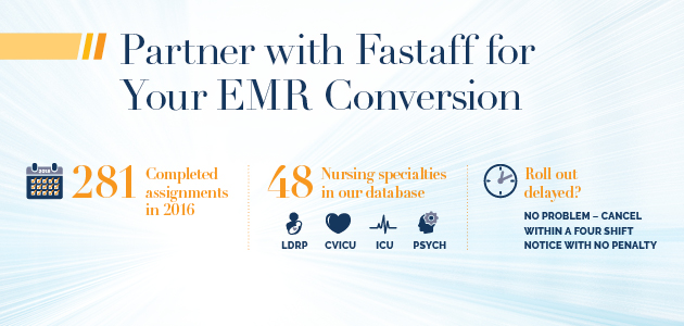 Partner with Fastaff for your EMR Conversion | Fastaff Travel Nursing